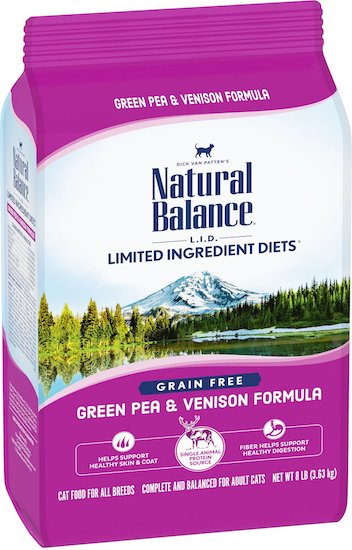 Natural Balance LID Venison food for cats with allergies