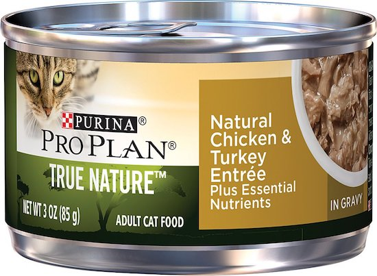 Pro Plan Natural canned cat food