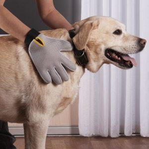 Pat Your Pet dog grooming glove