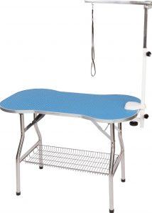 Flying Pig bone-shaped grooming table