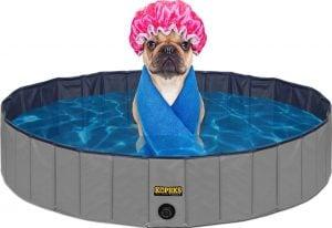 Chewy Kopeks outdoor portable pool dog bathtubs