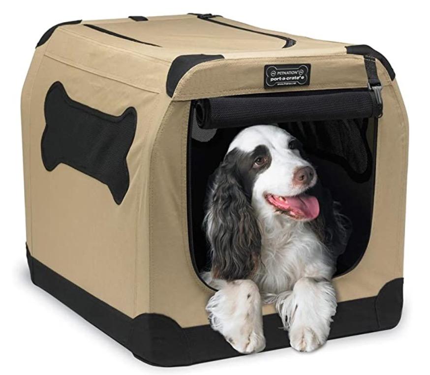 Soft dog box