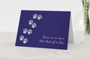 Designs by Marianne pet sympathy card