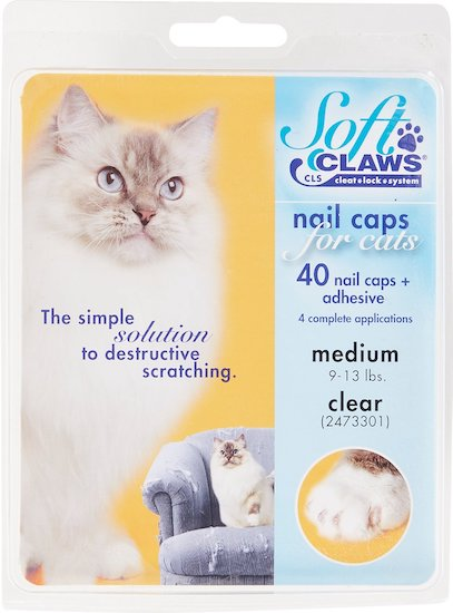 Soft Claws nail caps cat grooming supplies