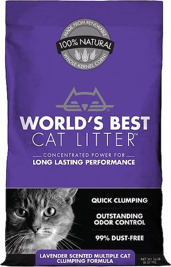 Worlds Best lavender litter