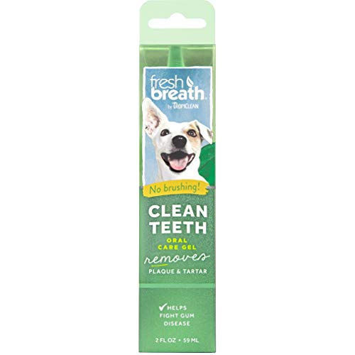 Fresh Breath by TropiClean dental and oral care gel for dogs