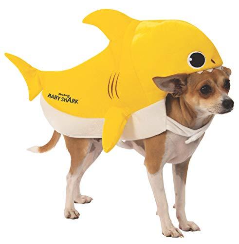 yellow baby shark costume