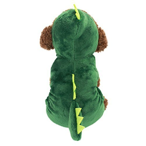 green dinosaur costume for dogs