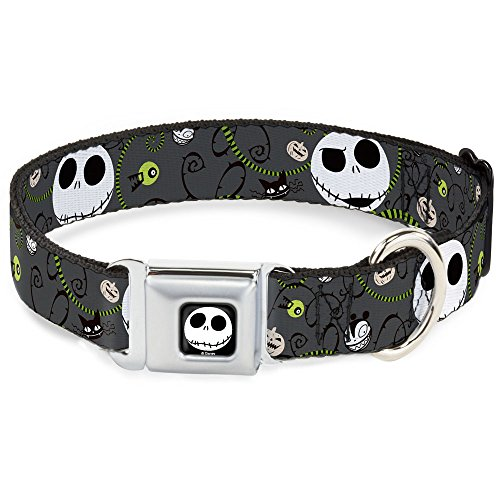 Buckle-Down seat belt style Halloween dog collar