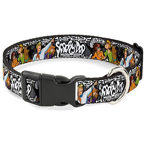 Scooby-Doo-themed dog collar