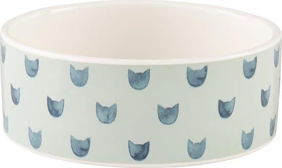 Monty ceramic cat bowl
