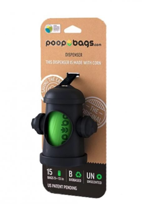 Rover Store hydrant-shaped poop bag dispenser