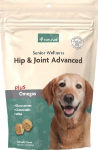 NaturVet senior hip and joint supplement for dogs