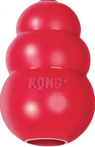 Kong Classic dog toy for separation anxiety