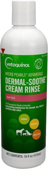 bottle of Vetoquinol cat cream rinse