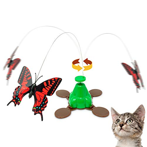 Pet Zone butterfly spinning toy