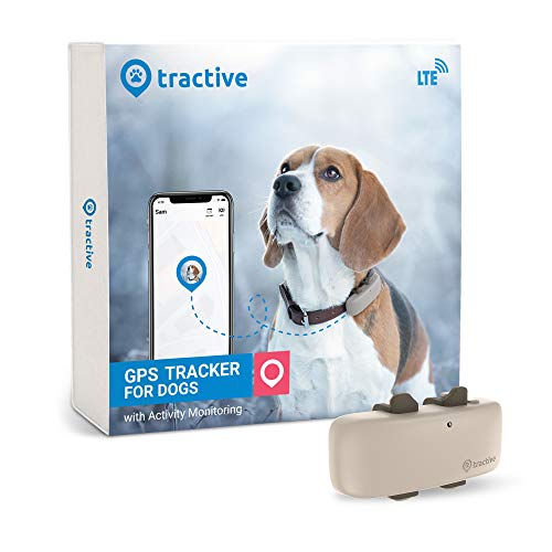 Tractive cat and dog GPS tracking device