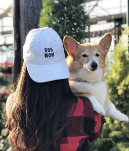 """Dog Mom"" baseball hat"