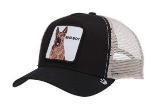 "dog ""bad boy"" trucker hat"