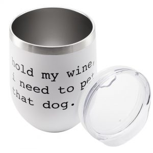 """""""I Need to Pet That Dog"""" insulated tumbler"""