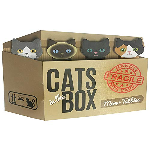 Cats in the Box adorable memo pads