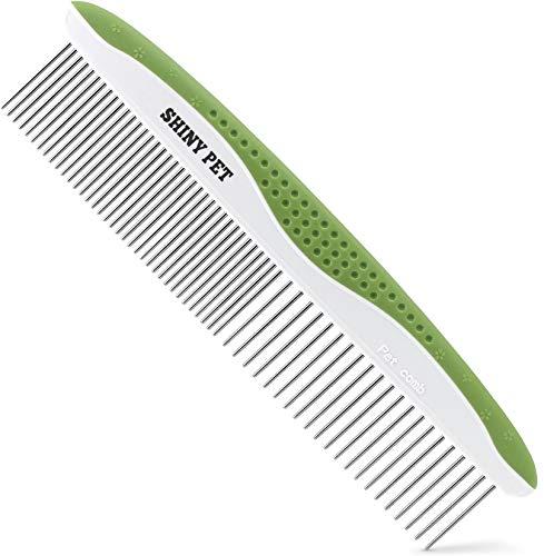Shiny Pet dog comb for shedding