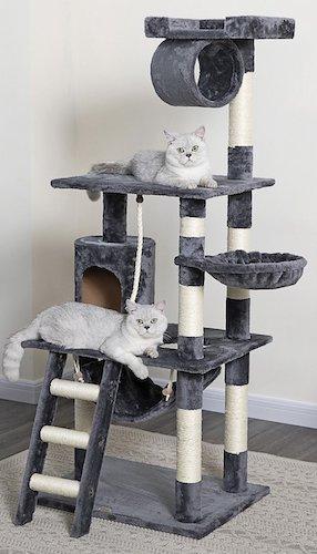 Go Pet Club cat condo and tree