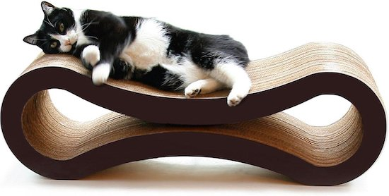 Petfusion cat scratcher and lounger combo for older cats
