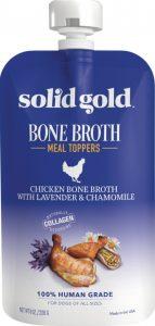 Solid Gold Chicken Bone Broth Dog Food Topper