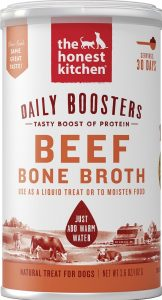 The Honest Kitchen Daily Boosters instant beef bone broth