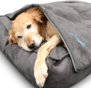 BuddyRest Soothe Manta ponderada para perros