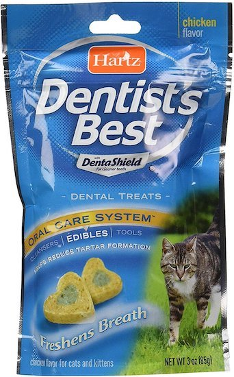 Hartz Dentist's Best cat treats