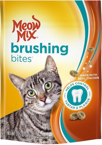 Meow Mix cat dental treats