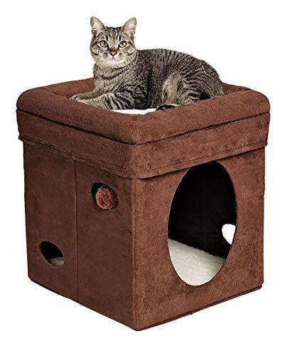 Cama para gatos MidWest cube en Amazon