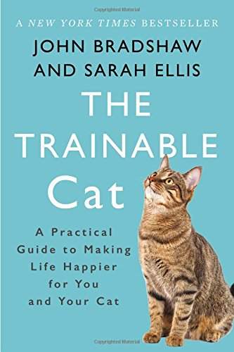 """""""The Trainable Cat"""" cat behavior book"""