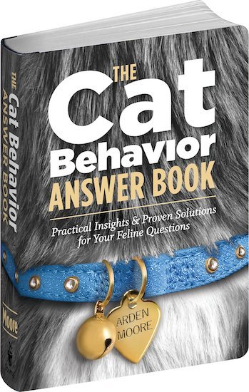 """""""The Cat Behavior Answer Book"""" cover"""