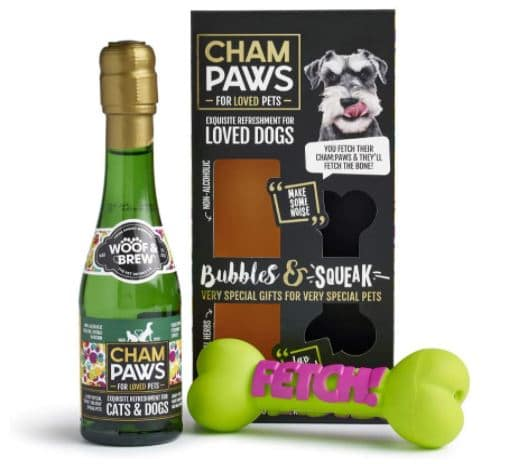 Champaws Dog Champagne