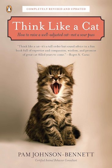 """""""Think Like a Cat"""" book cover"""