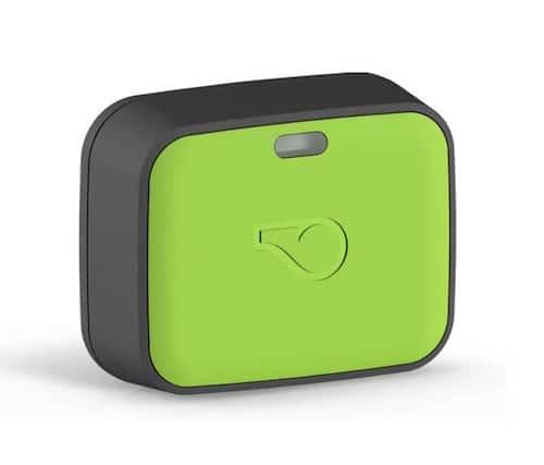 Green Whistle GPS tracker