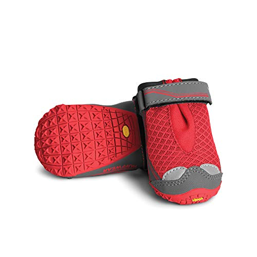 Ruffwear Grip Trex outdoor dog boots for winter safety