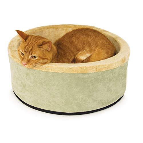 Cama para gatos con calefacción Thermo-Kitty en Amazon