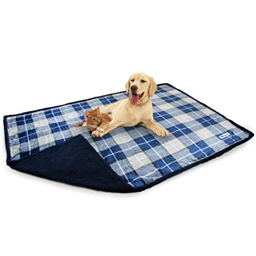 PetAmi waterproof sherpa fleece dog proof blanket