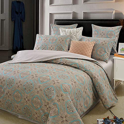 Brandream duvet cover and sham set