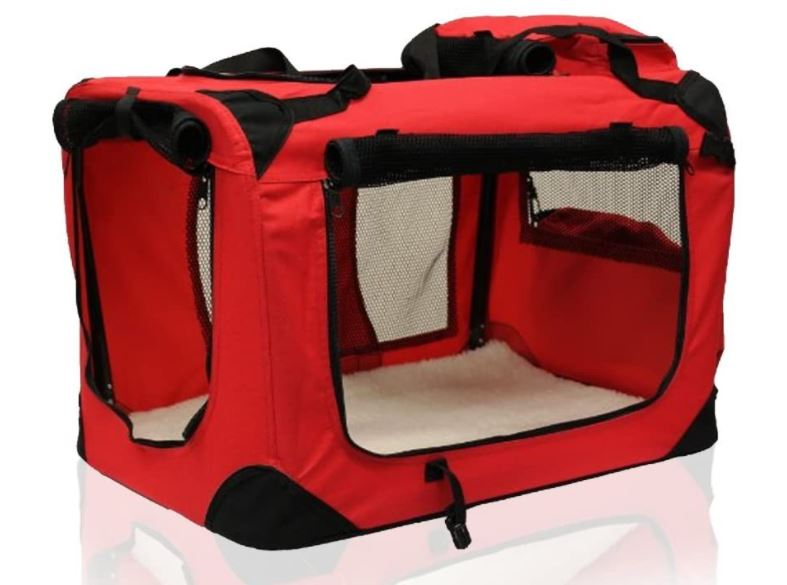 Soft-Sided Large Dog Crate
