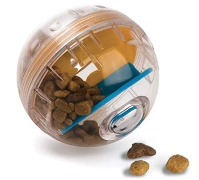 Product Image of the 5. Pet Zone IQ Treat Ball Interactive Dog Toy