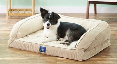 Serta Quilted Orthopedic Bolster Bed