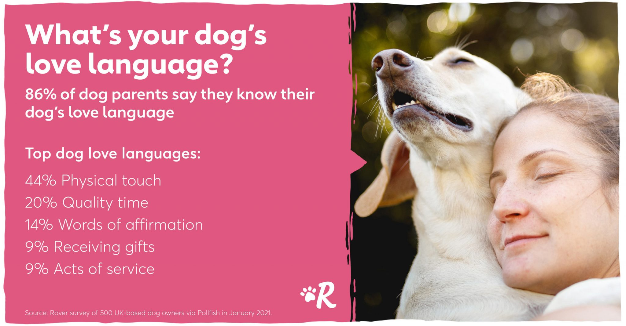 dog love language