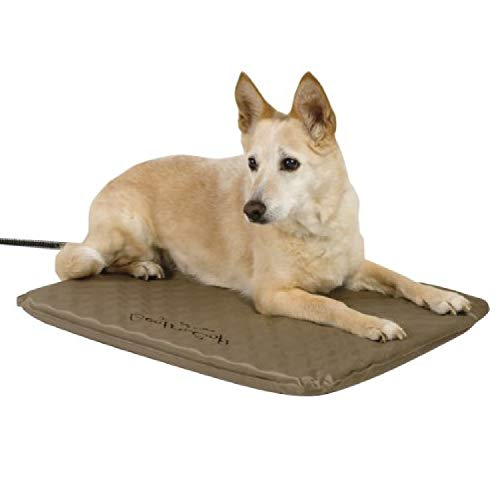 K&H Lectro-Soft outdoor heated cozy pet bed