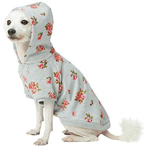 Blueberry Pet rose flower print sweater