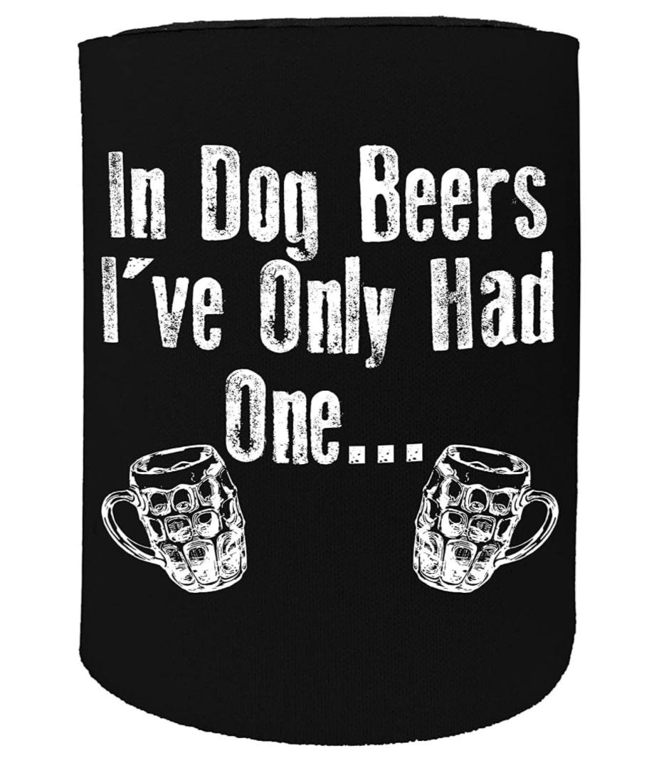 Dog Dad Gift Beer Cooler